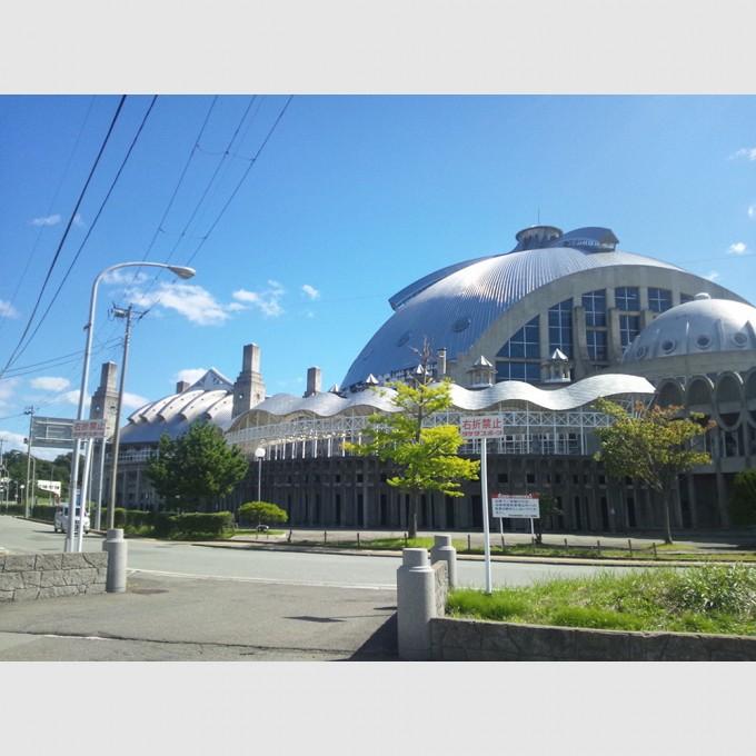 秋田市立体育館 | 渡辺豊和