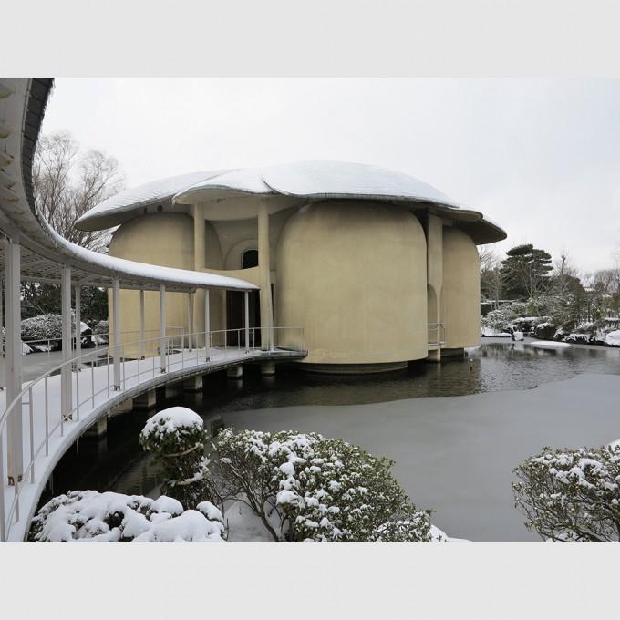 新潟市天寿園 瞑想館   村野藤吾