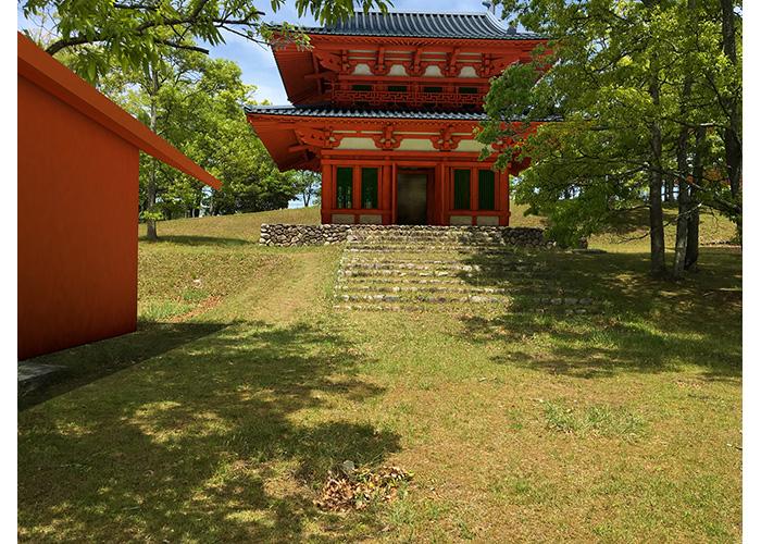 復元BIMで史跡活用提案 | ykuw-design 桑山優樹