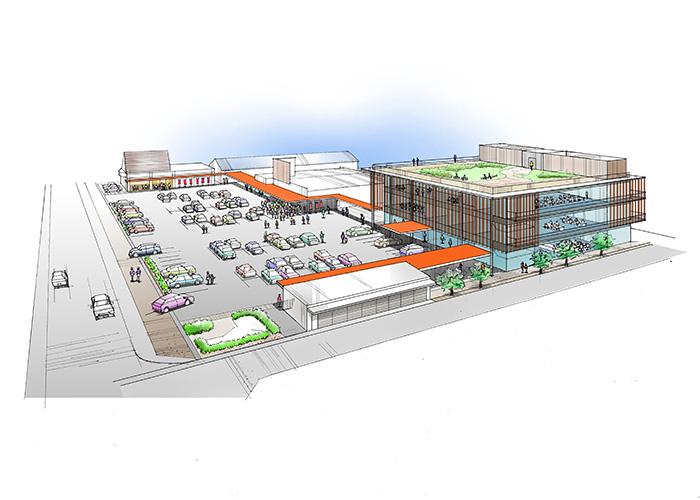 施設改築提案書挿入パース | Yo 建築・環境設計室 高井洋