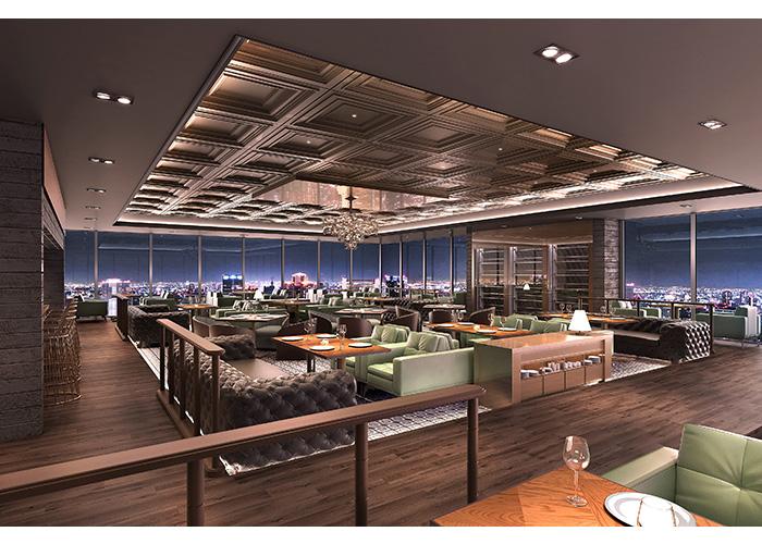 夜景の見えるレストラン   株式会社ルームシー 杉田章
