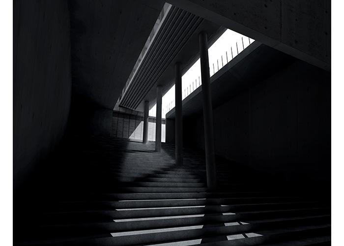 卒業制作「意識の表現」 | 株式会社高松伸建築設計事務所 溝手颯太
