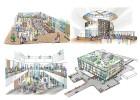 公共施設プロポーザル提案書挿入パース | Yo建築・環境設計室 高井洋