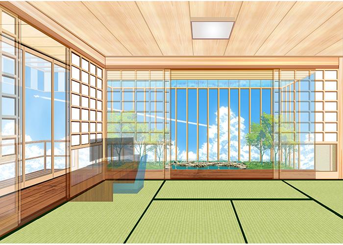 箱庭+和室 | Blue Rabbits Design