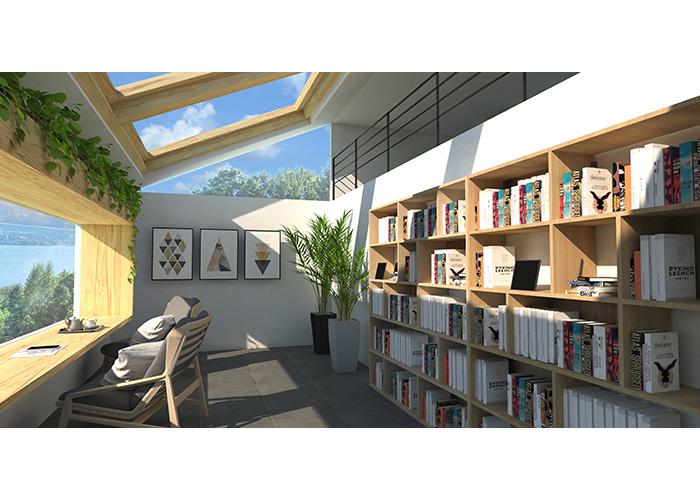 海を眺める書斎 | レグルス建築デザイン 林勇気